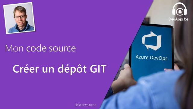 Créer un dépôt GIT