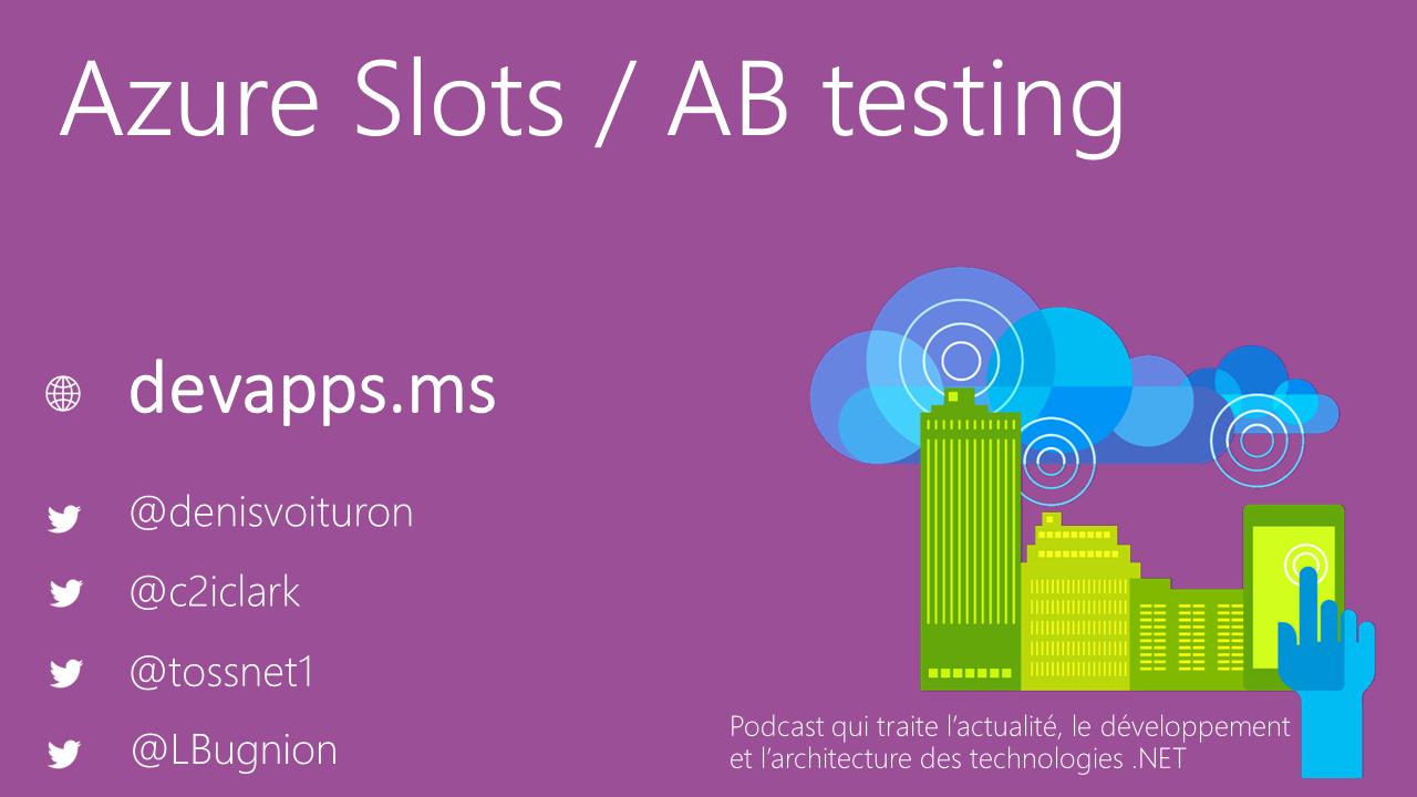 #62 Azure Slots et A/B Testing