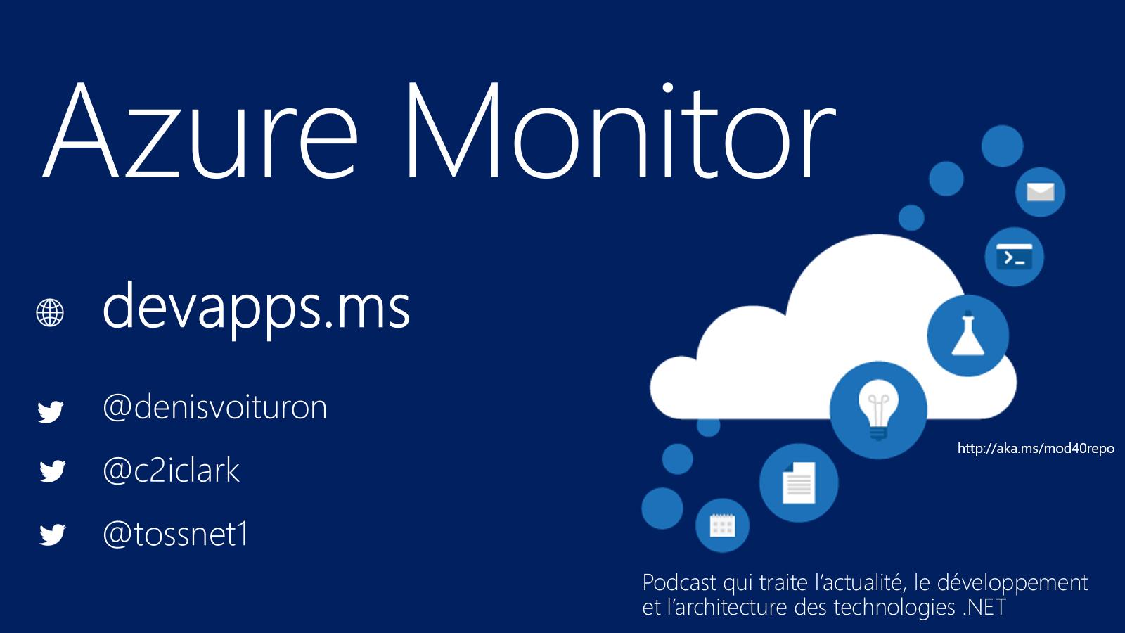 #63 Azure Monitor
