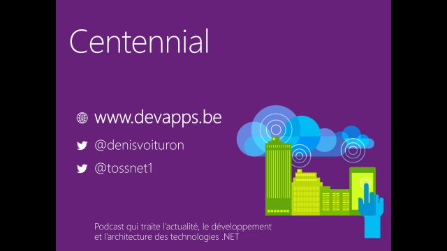 Centennial: vos applications Win32 dans le Windows Store.