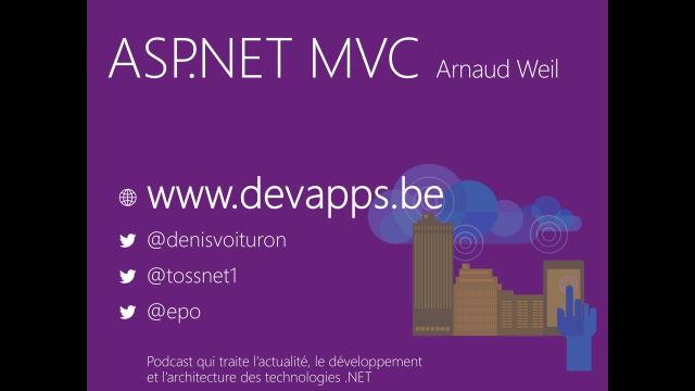 Apprendre ASP.NET MVC - Tour d'horizon.