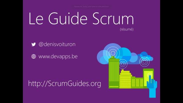 Le guide Scrum (résumé)