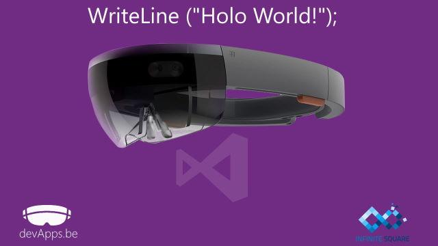 Hololens - Comment développer dans le futur de Microsoft ?
