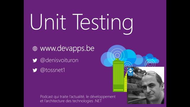 Les tests unitaires dans Visual Studio : c'est facile, Christophe ?