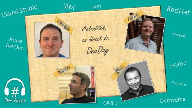 #50 Actualités, en direct du DevDay 2018