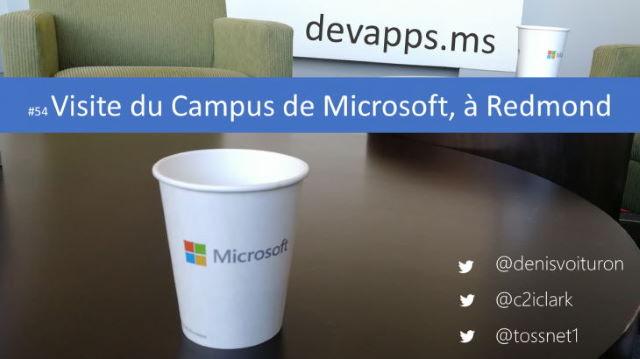 #54 Visite du Campus de Microsoft à Redmond