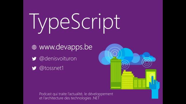 De JavaScript à TypeScript, vers un monde meilleur