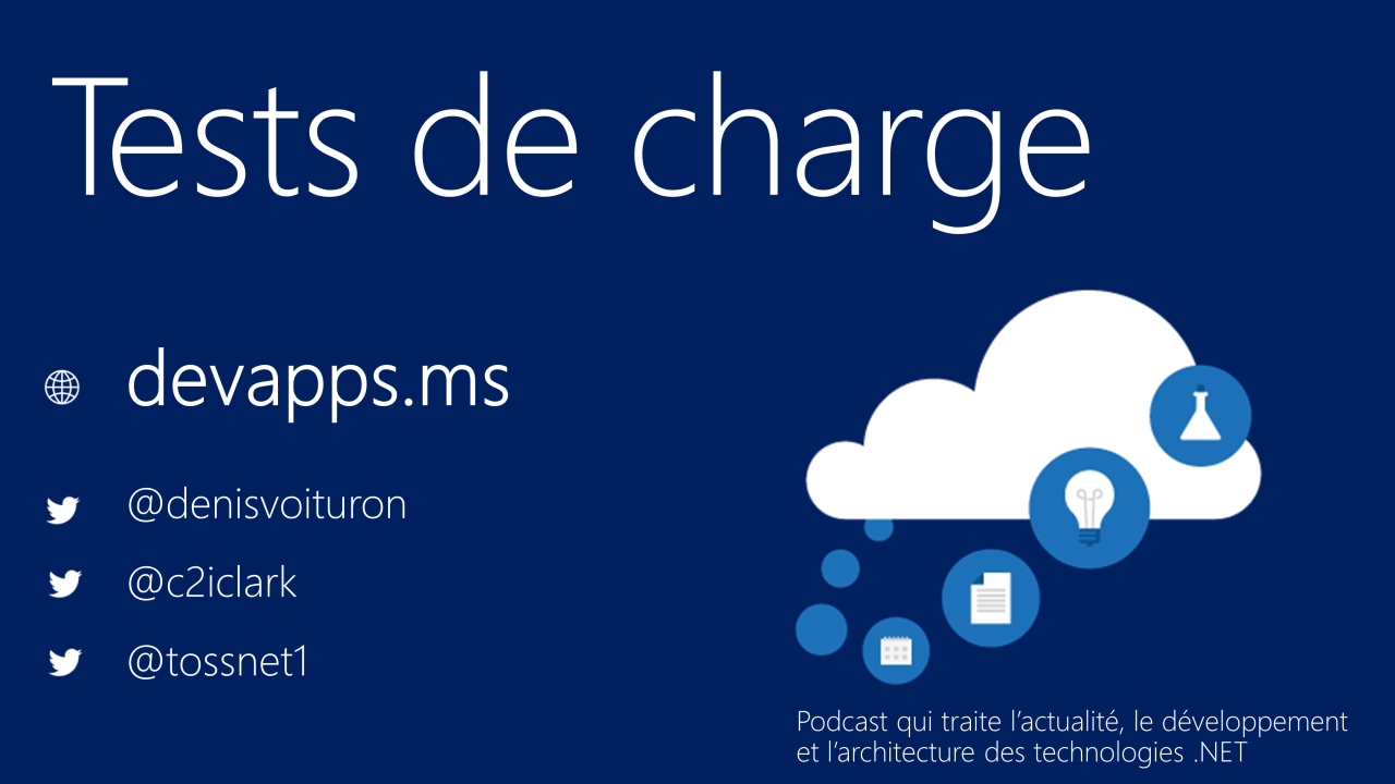 #65 Tests de charge