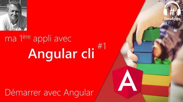 Ma première application avec Angular CLI