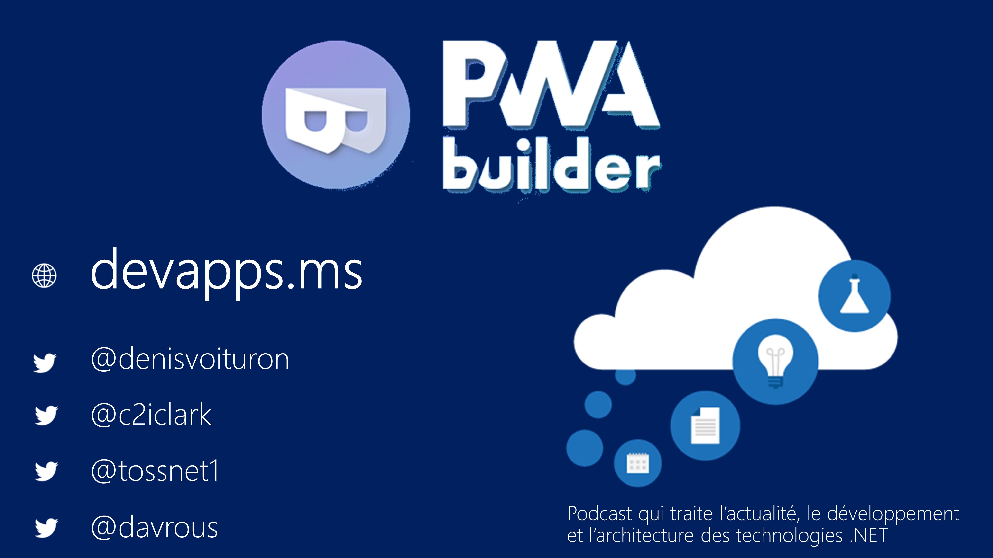 #71 PWA Builder