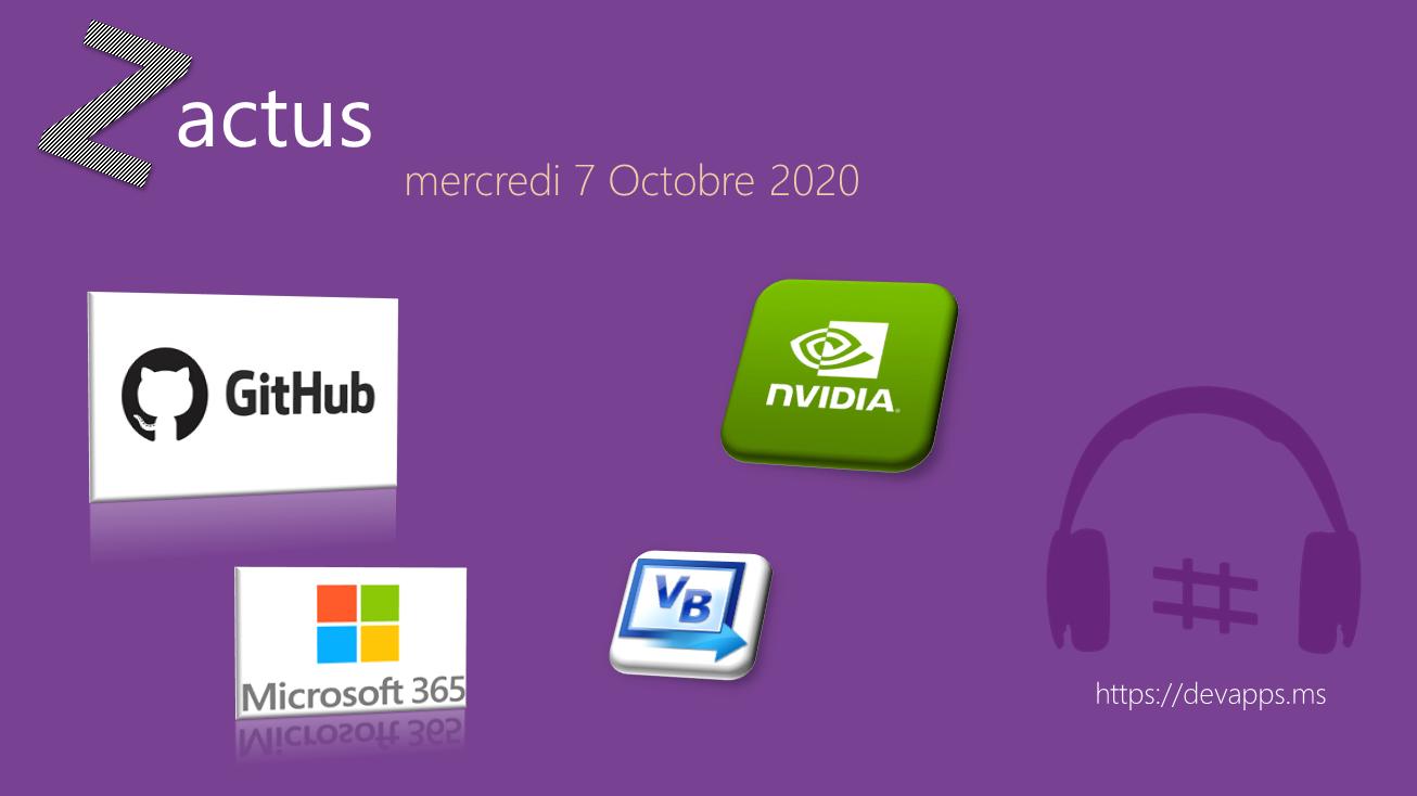 Les Zactus du 07 Octobre 2020