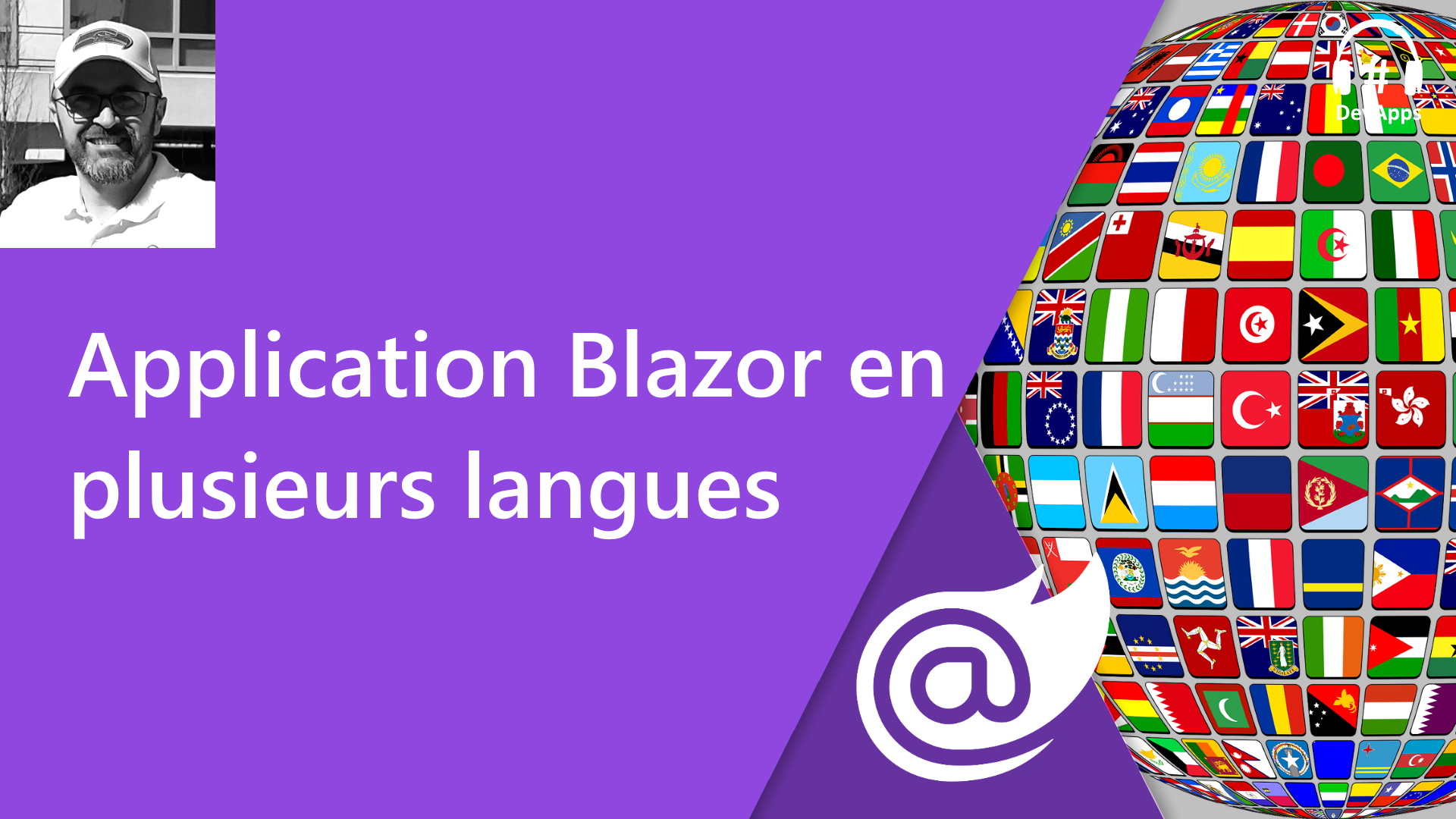 Blazor, application multilangue