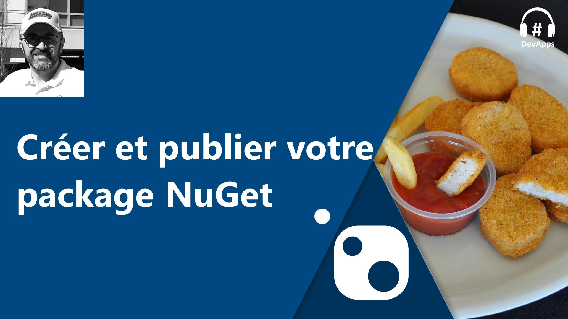 Créer et plublier un package NuGet